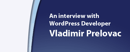 Vladimir Prelovac interview
