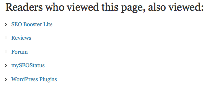 Readers who viewed this page, also viewed: