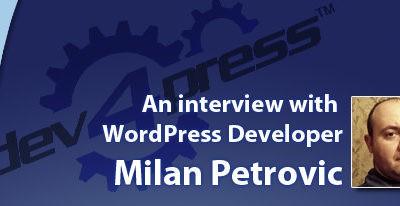 Milan Petrovic Interview