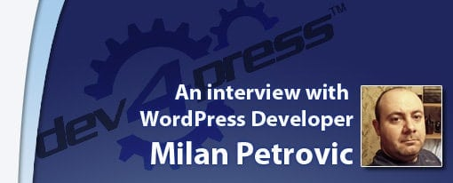 Milan Petrovic interview