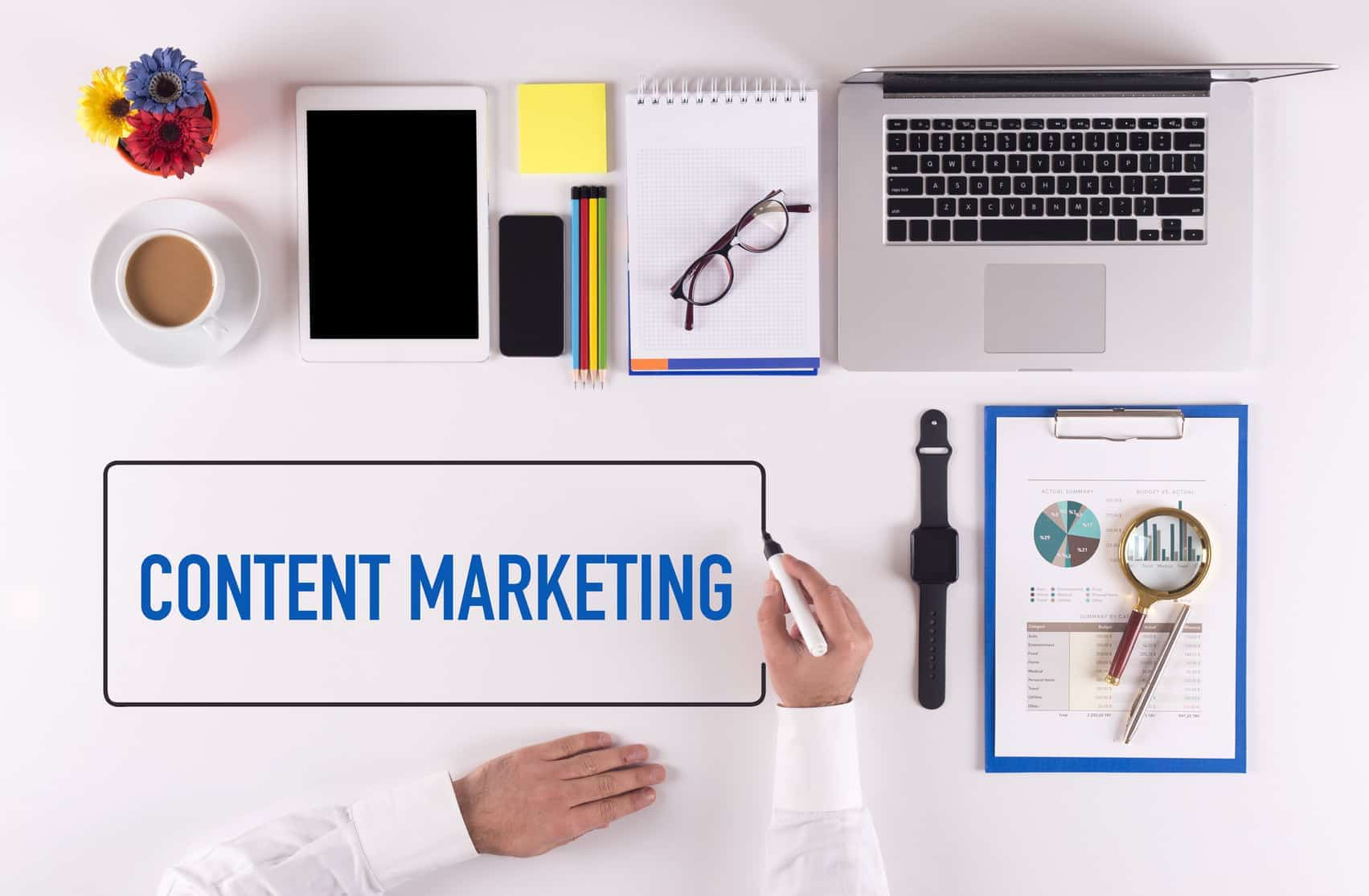 Content marketing - 7 tips for SEO writing.