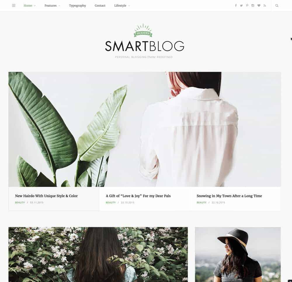 Smartblog WordPress Theme