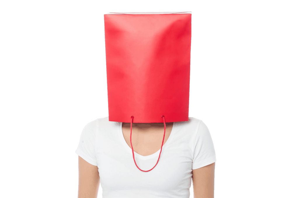 Your head is in a bag
