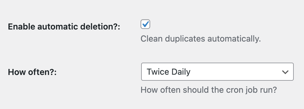 Enable automatic deletion in DDP